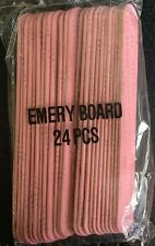Mary Kay 24 Pack Emery Boards  5 3/4 inches X 3/4 inches fragile nails
