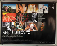 Cinema Poster: ANNIE LEIBOVITZ LIFE THROUGH A LENS 2006 (Quad) Barbara Leibovitz