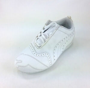 94cabd9a832c Details about Puma Sela Diamond Girl Shoes True White 347255-02 #1871