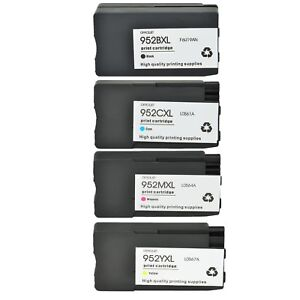 Ink-Cartridge-For-HP-952XL-Black-Cyan-Magenta-Yellow-Officejet-7740-8715