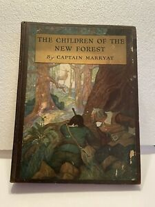 The-Children-of-the-New-Forest-by-Captain-Marryat-Illus-Stafford-Good