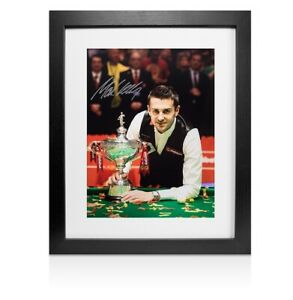 Indoor Games Billiards World Snooker Championship Memorabilia Collection With Autographs