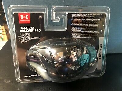 UA Under Armour Mens Gameday Armour-Pro Football Chin Strap Black One SizeNew