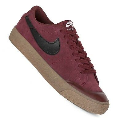 Nike Sb Zoom Blazer Low XT Men's Sneaker Dark Team Red Wine Red | eBay