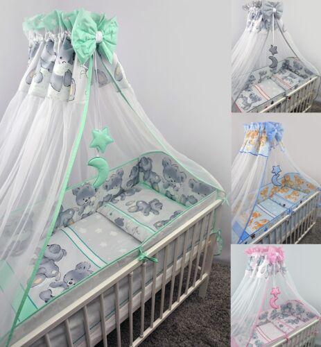 Lit bébé 8-9 pièces linge de lit serait Ciel tige 120x90 MIKA