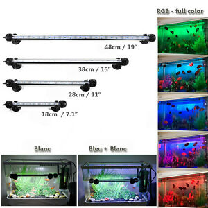 Bleu-Blanc-RGB-5050-SMD-LED-Submersible-Lampe-Lumiere-Eclairage-Poisson-Aquarium