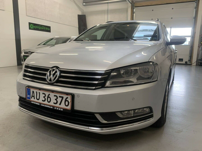 VW Passat 2,0 TDi 140 Comfortl. Vari. DSG BM 5d - 89.800 kr.