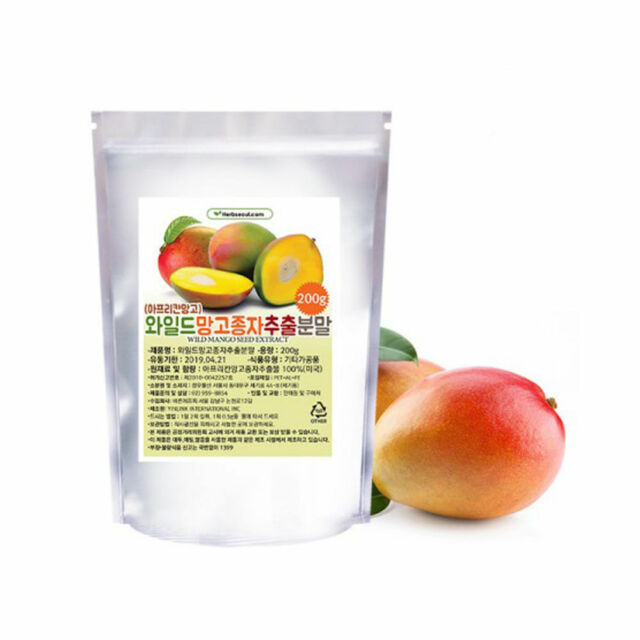 Pure 100 African Mango Seed Extract Powder 0 44lb Wild Mango