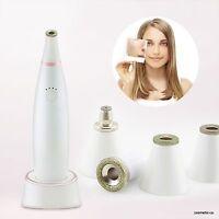 Diamond Vacuum Microdermabrasion Machine - 4 Diamond Face And Body Tips