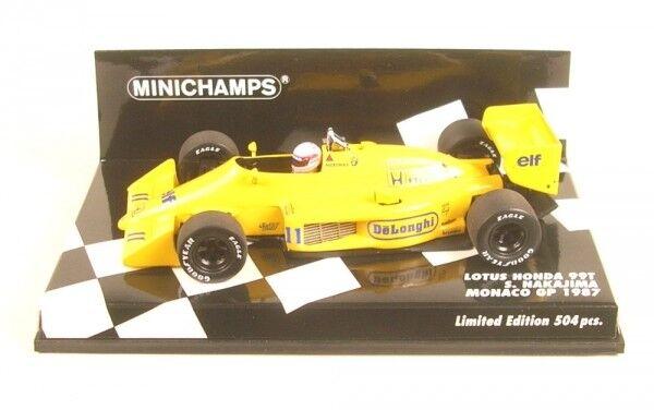 Lotus 99t nº 11 Monaco GP Formula 1 1987 (Satoru Nakajima)