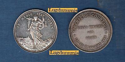 Coins: Ancient Dutiful Liberté The Brokerage Cours Silks July 1866 According To Cap Token Silver