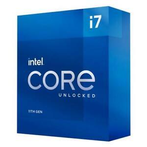 Intel Core i7-11700K Unlocked Desktop Processor - 8 cores and 16 threads
