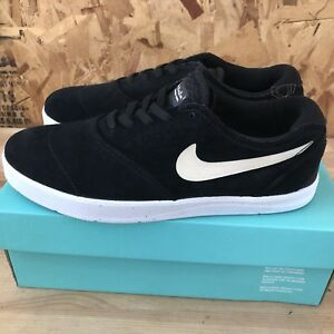 Nike SB Eric Koston 2 - Black   White Size 7.5 New 887225323943  436405a87
