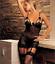 Women-Sexy-Sissy-Lingerie-Nightwear-Sleepwear-Thong-Suspenders-Sets-UK-Seller thumbnail 14