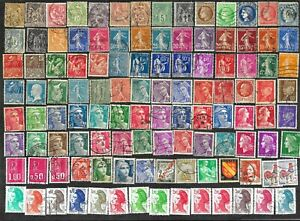France-Stamps-amp-Pictorials-Used-FREE-Shipping-U-S