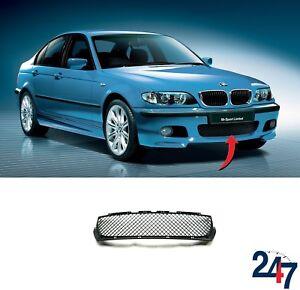 NEW-BMW-3-SERIES-E46-COUPE-CABRIO-00-05-M-SPORT-FRONT-BUMPER-CENTR-GRILL-MESH