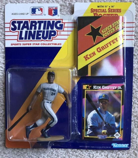 Ken Griffey Jr Starting Lineup Headline Collection Sports Stars Mariners