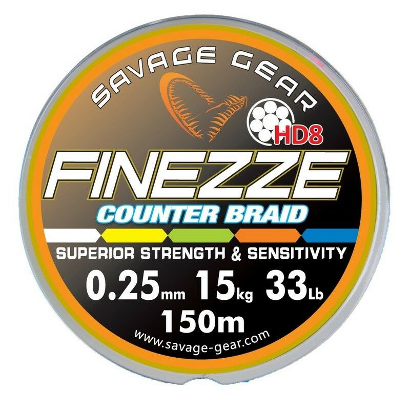 Savage Gear Finezze Counter Braid HD8