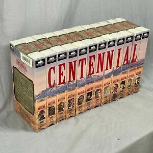 Lot Of 12 Centennial Complete Series VHS Universal Home Video Western 1978