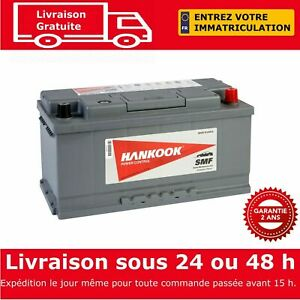 Hankook-58515-Batterie-de-Demarrage-Pour-Voiture-12V-85Ah-354-x-174-x-175mm