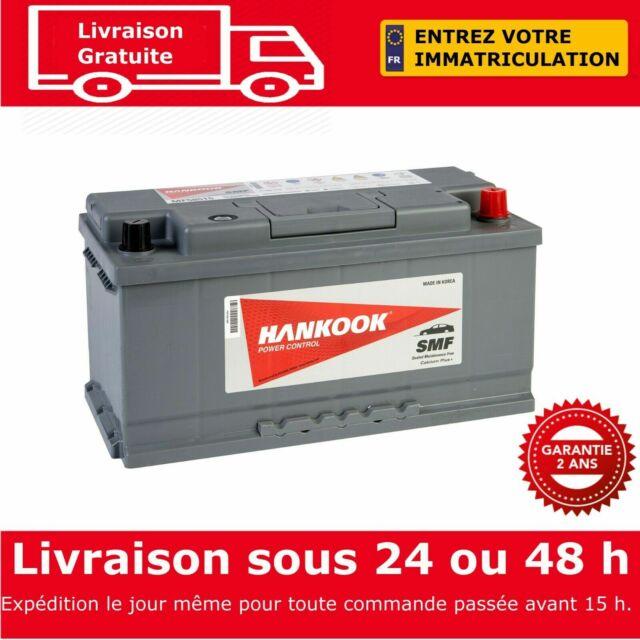 Hankook 58515 Batterie de Démarrage Pour Voiture 12V 85Ah - 354 x 174 x 175mm