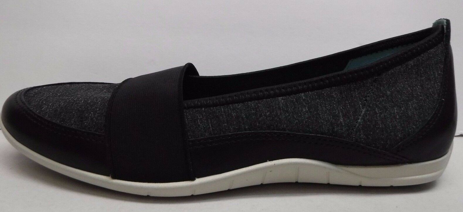 Ecco Size EUR 41 US 10 10.5 Black Slip On Loafer New Womens shoes