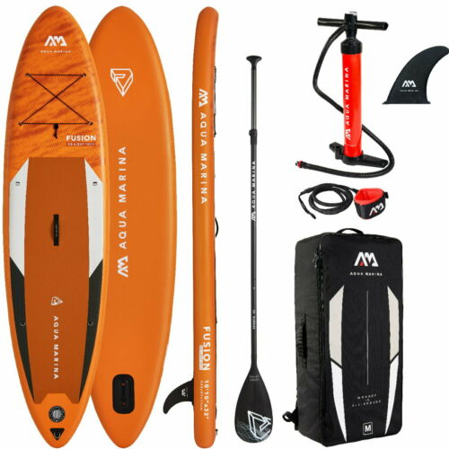 "AQUA MARINA FUSION 10/'10/"" SUP Stand Up Paddle Surf Board ISUP 15x81x330cm"