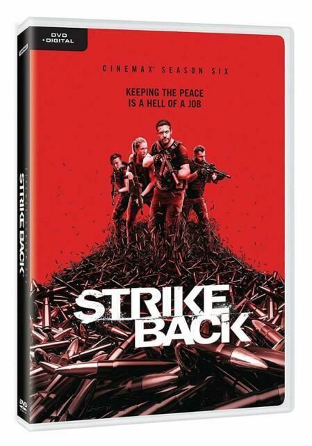 Strike Back Cinemax Tv Series Complete 6th Sixth Season 6 Six Dvd For Sale Online Ebay
