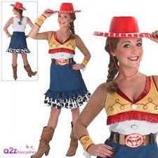 Ladies Adult Disney Toy Story Sassy Jessie Fancy Dress Costume Pixar  Cowgirl Large