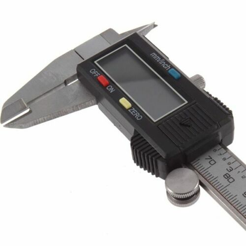 "Digital Vernier Caliper 0-150mm 0.01mm LCD Electronic Stainless Steel Rule 6/"""