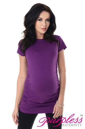 Purpless 100/% Algodón Maternidad Y Embarazo Camiseta Size 8 10 12 14 16 18 5025