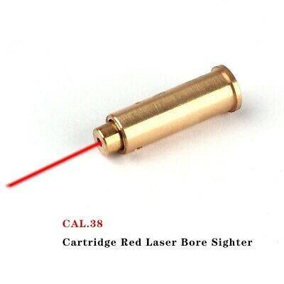 Outdoor Hunting .38 Cartridge Bore Sighter Red Dot Laser Boresighter Sight New
