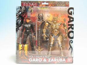 FROM-JAPAN-Equip-amp-Prop-Vol-1-GARO-Garo-Steel-tusk-amp-Madourin-Zaruba-Bandai