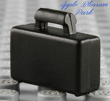 NEW Lego City BLACK BRIEFCASE Business Minifig/Minifigure Suitcase Attache Bag