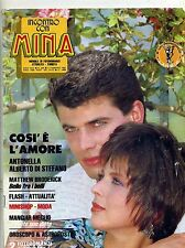 INCONTRO CON MINA#Mensile di Fotoromanzi-An. XXVI-N.299#5 Febbraio 1987 Lancio