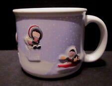 Hallmark Ceramic Coffee Mug from Frosty Friends Series 1998 Christmas Oversized