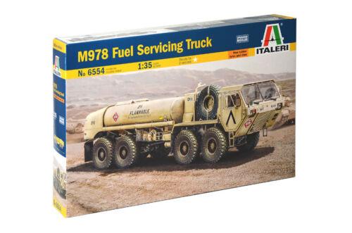 Italeri 1//35 M978 Fuel Servicing Truck # 6554