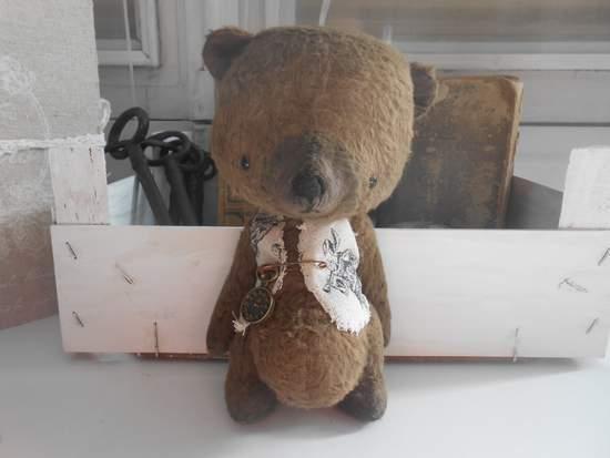 Viscose Bear Kit 7  Inch Incl. Ready Made Waistcoat