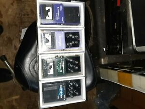 PEDAL LOT / 4 JOHNSON PEDALS, TUNER, FLANGER CHORUS DISTORTION FACTORY SEALED