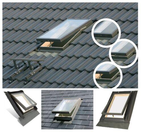 Ausstiegsfenster Mehrzweckfenster Holz WGT Optilook 46x55 Dachluke als Vlt 025