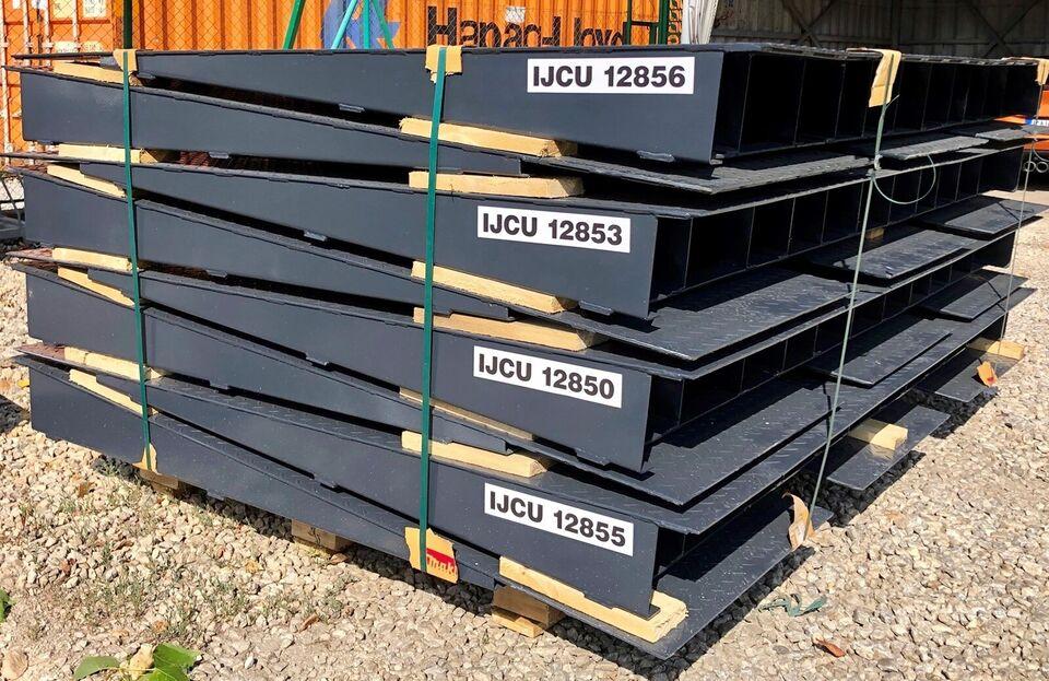 Køreramper til containere