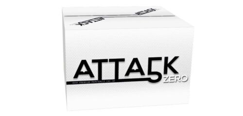 New Legion Attack Zero paintballs cal.50-4000 Pièces
