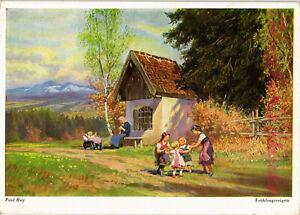 AK-Kuenstlerkarte-Kuenstler-Paul-Hey-Fruehlingsreigen-09-02