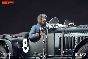 1-18-Tim-Birkin-racing-driver-figurine-NO-CAR-for-1-18-Bentley-Minichamps