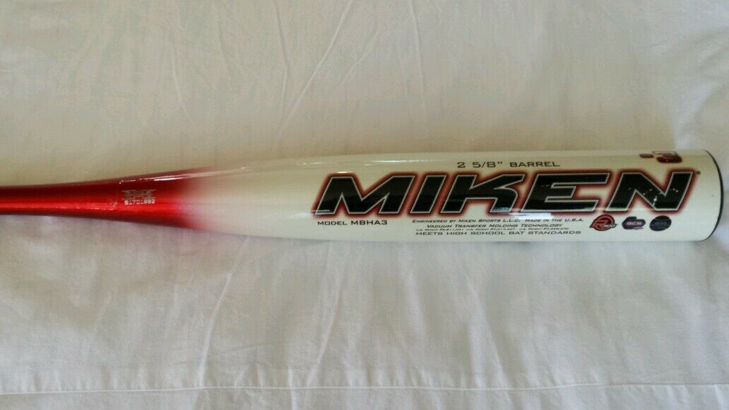 MIKEN HEAT COMPOSITE Baseball Bat.      32/29  -3, Model: MBHA3