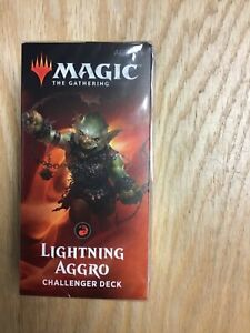 Lightning Aggro Factory Sealed! MTG 2019 Challenger Deck