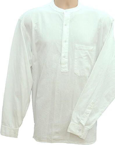 Grandad Shirts Kaboo Trading The Original Half Button pure cotton quality always