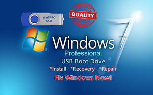 how to windows 7 professional install