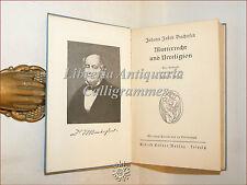 J.J. Bachofen, MUTTERRECHT UND URRELIGION (R. Marr) Lipsia con Tavole e Ritratto