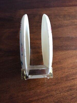Napkin Holder Vintage Clear Plastic 70s Rustic Kitchen Design Bicentennial Farmhouse